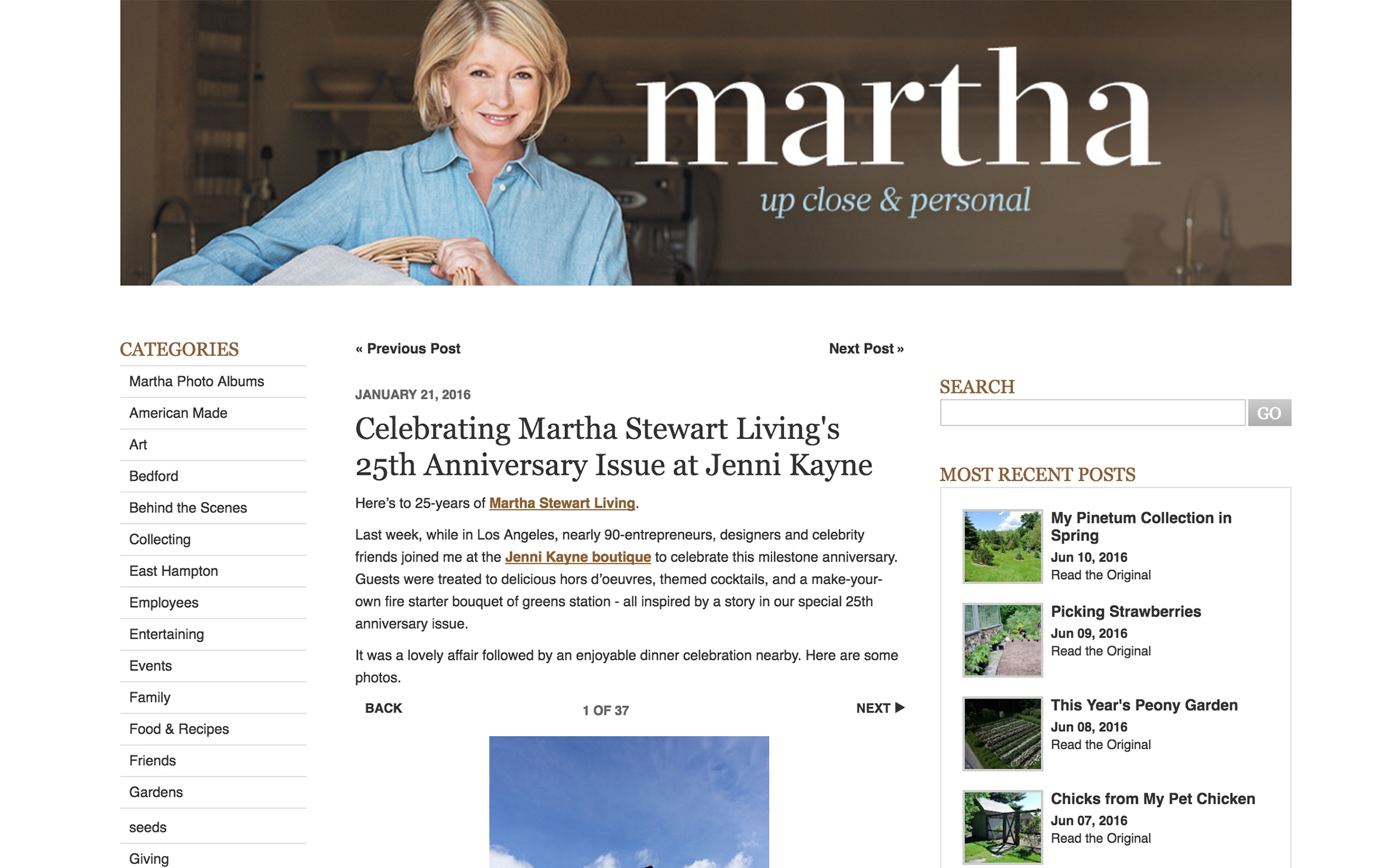 THE MARTHA BLOG // Jenni Kayne x Martha Party featuring annie campbell