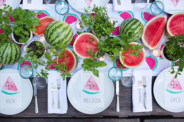 watermelon party by annie campbell